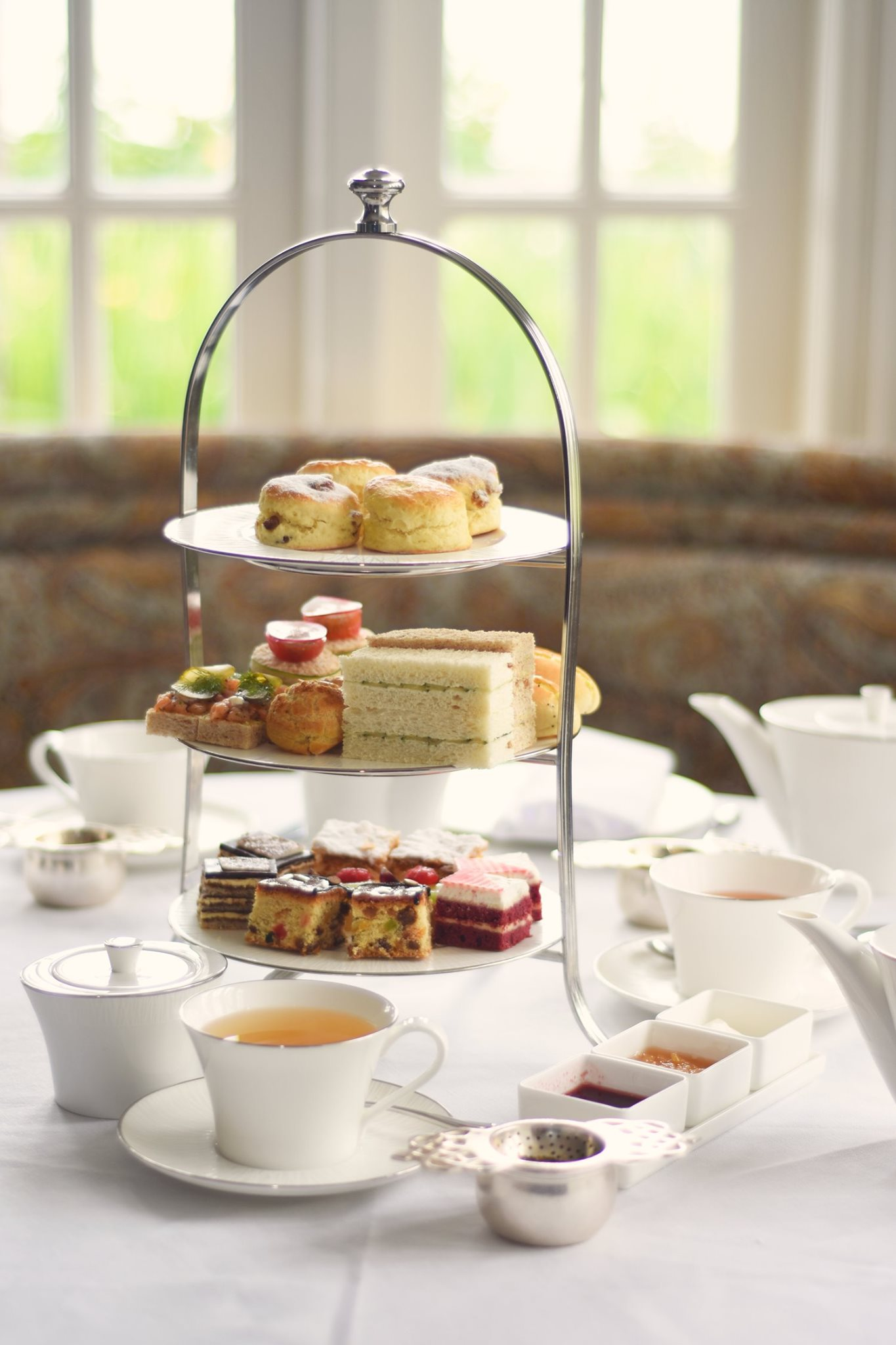 Impress your date with a mouth-watering afternoon tea.