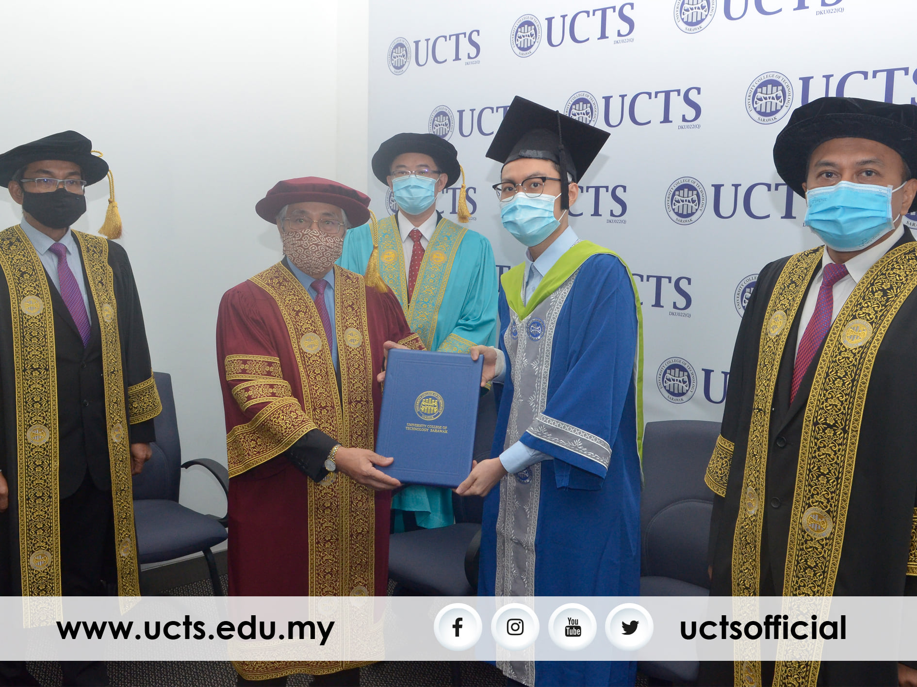 It was the first time UCTS had ever conferred an aegrotat degree.