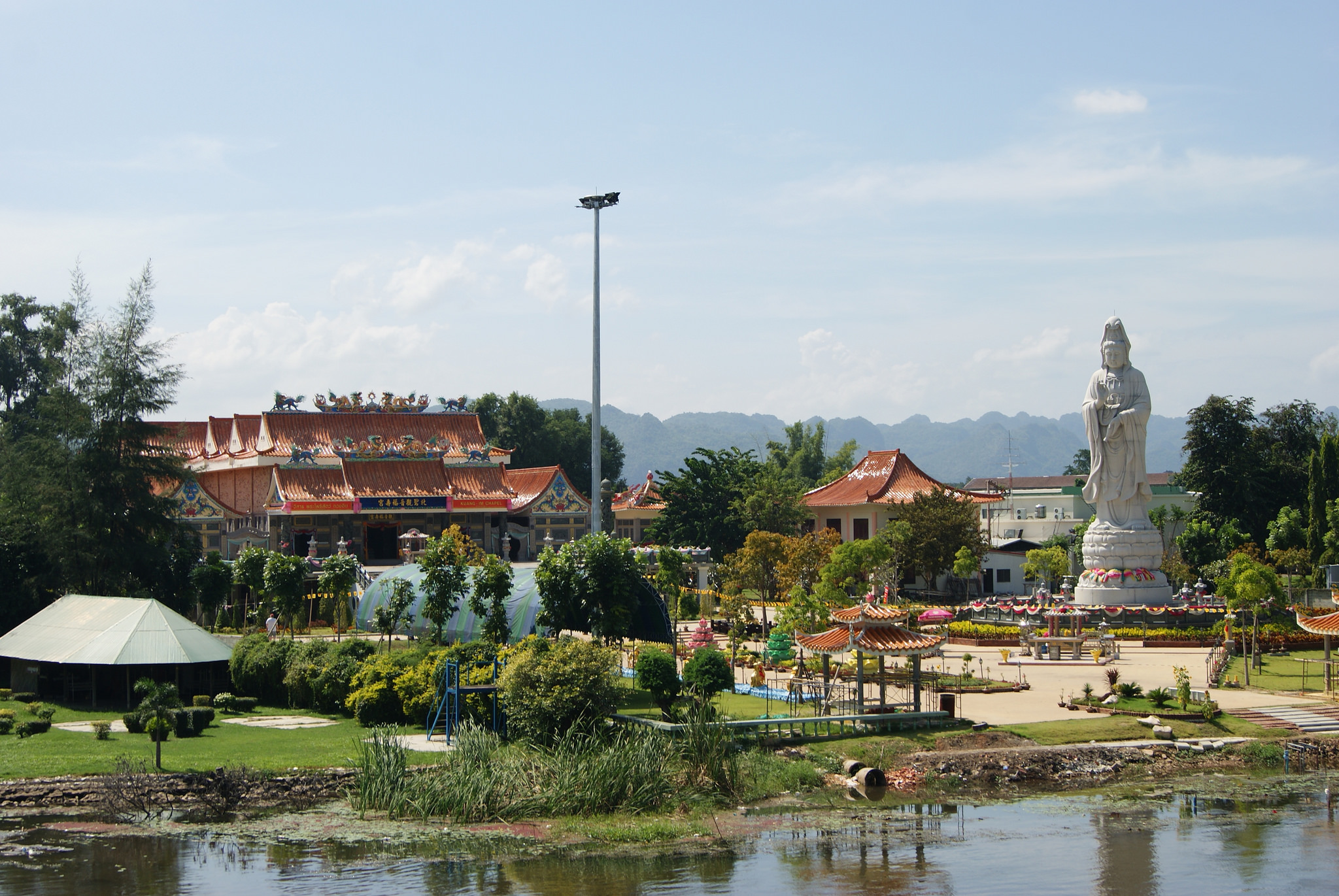 Another must-visit temple in Kanchanaburi.