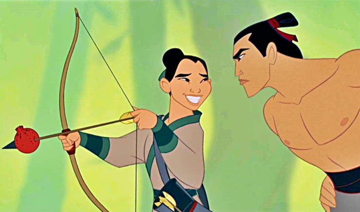 Who's gonna make a man out of Mulan?!
