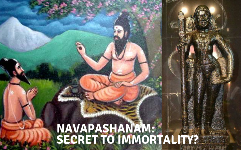 Bogar and His Navapashanam: The Secret to Immortality