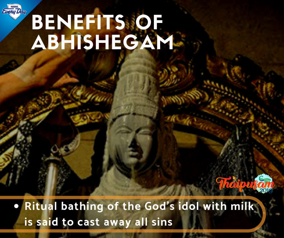 Benefits of Abhishegam