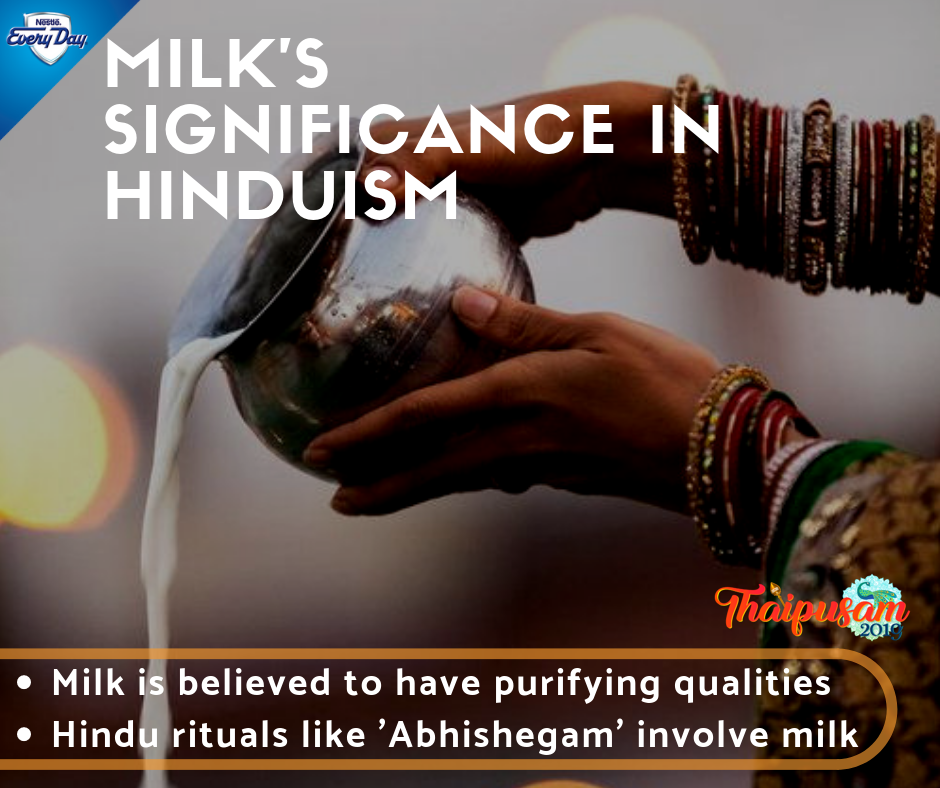 Milk's Significance in Hinduism