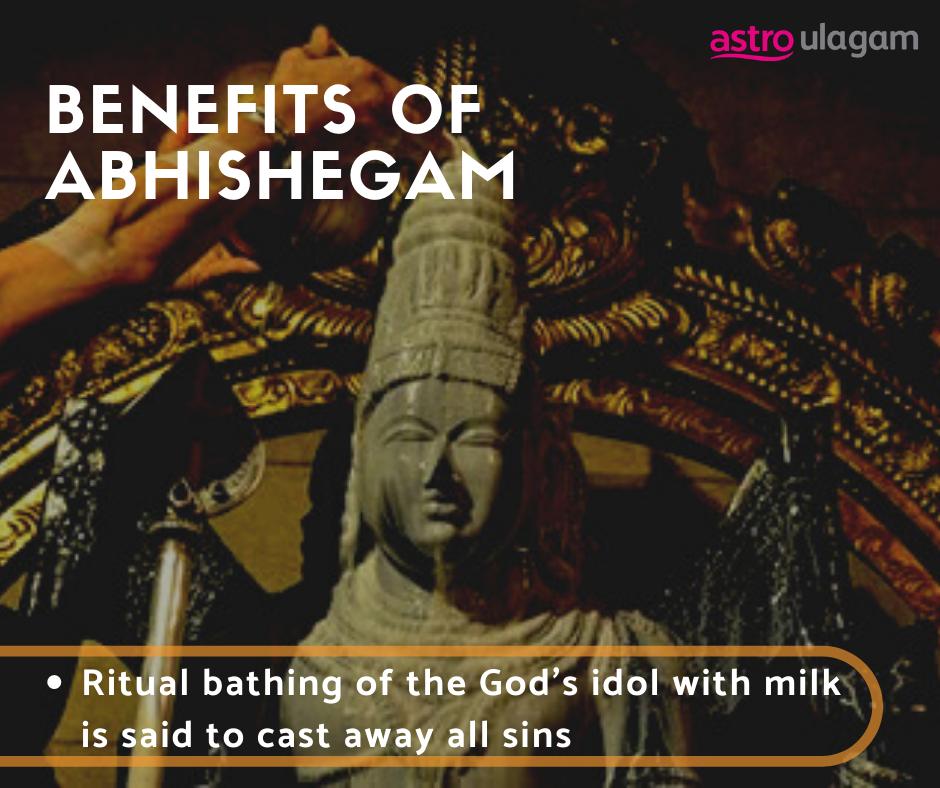 Benefits of Abhishegam