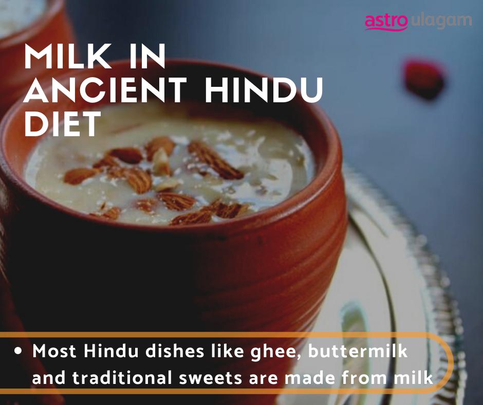 Milk in ancient hindu diet
