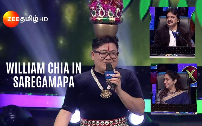 First Malaysian Chinese To Host a Show on Indian TV Channel! | Astro