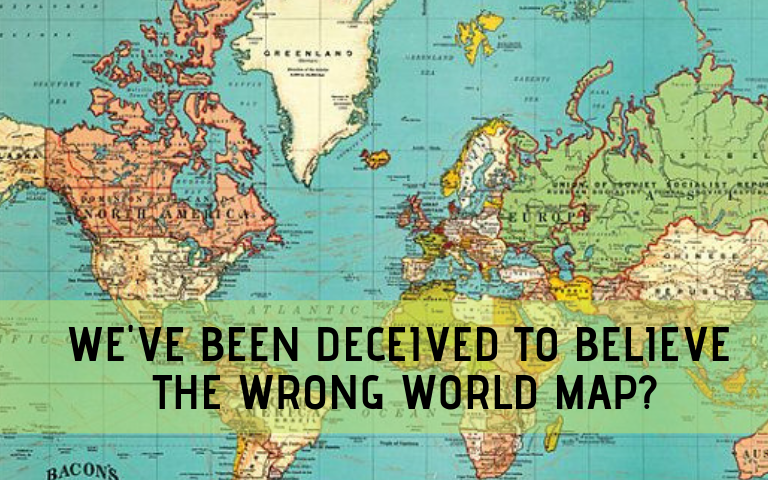 This is Not the Real World Map, You\'ve Been Tricked! | Astro ...
