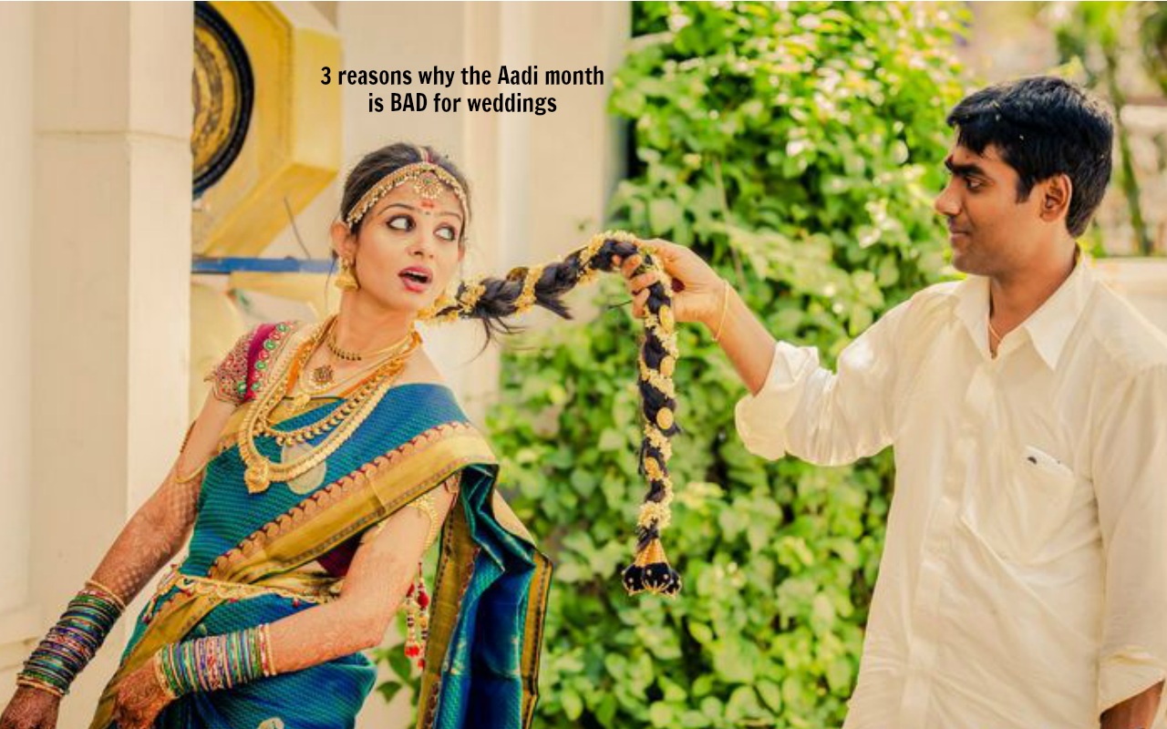 3 reasons why the Aadi month is BAD for weddings | Astro Ulagam