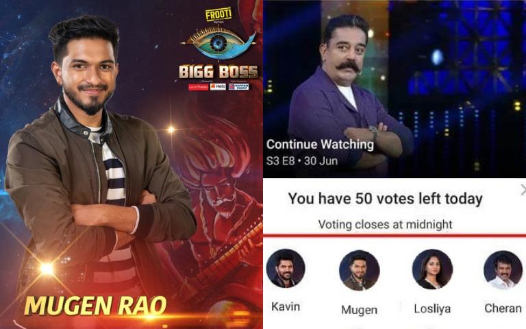 Can Malaysians Vote For Bigg Boss S3? Vijay TV