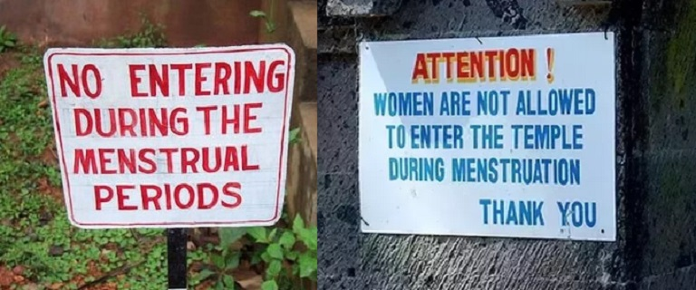 Why Are Women Forbidden From Entering Temple During Menses ...